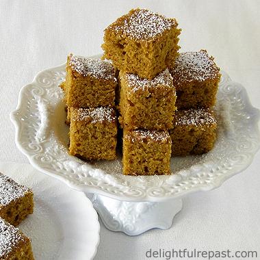 Pumpkin Tea Cakes / www.delightfulrepast.com