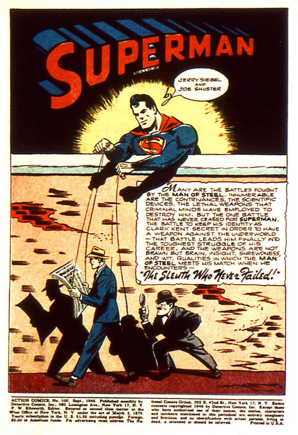 Read online Action Comics (1938) comic -  Issue #100 - 3