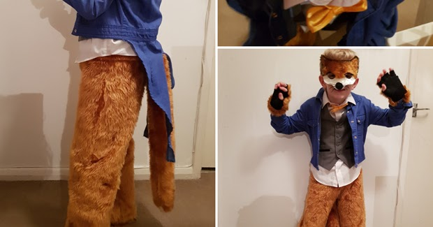 How I Made The Fantastic Mr Fox Costume Lifestyle Diy Blogger With A Geeky Craft Interior