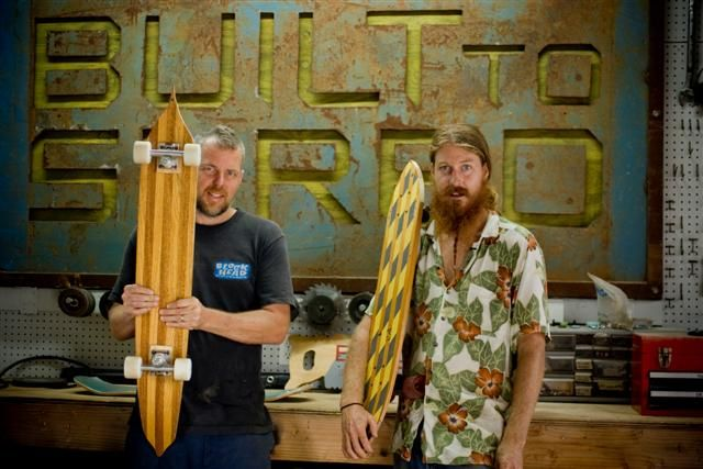 how to make a longboard out of wood waterskis