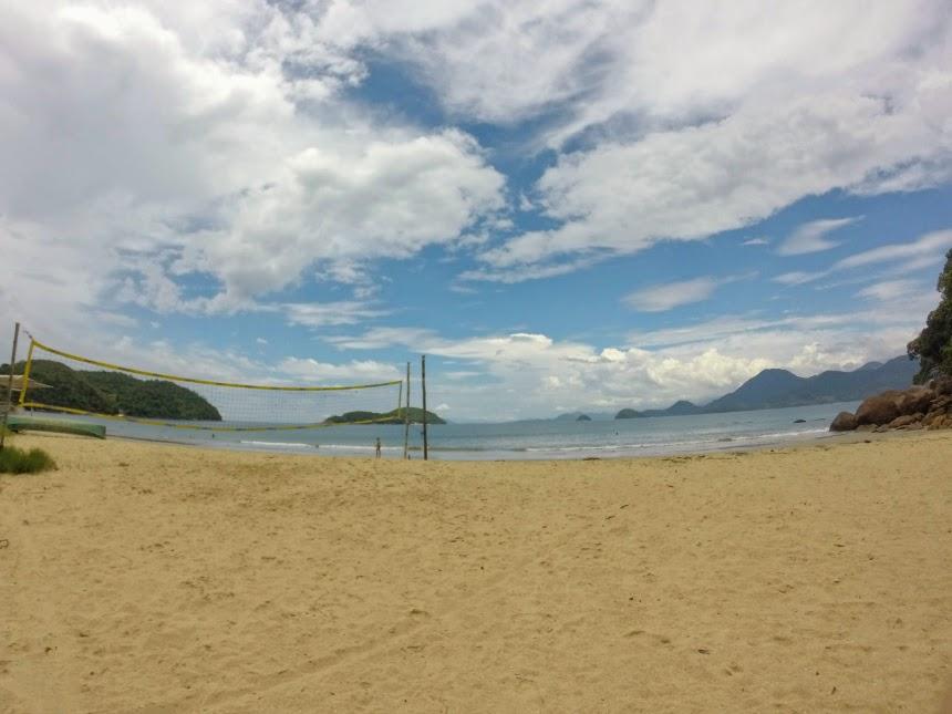 Rede na Praia da Almada
