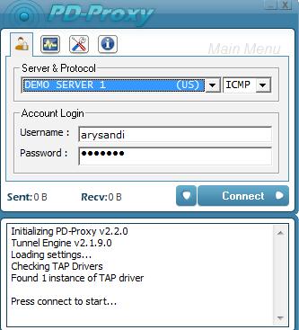 Cara Internet Gratis Semua GSM menggunakan PD-Proxy 1
