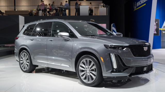 2020 Cadillac XT6 design