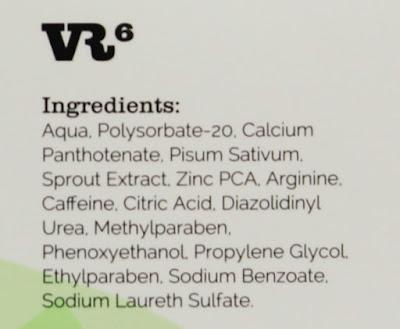 VR6 Definitive Hair loción anticaída de cabello