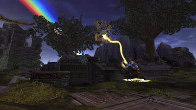 Teleport to Isle of Thunder / Townlong Steppes from inside instance/friends garrison