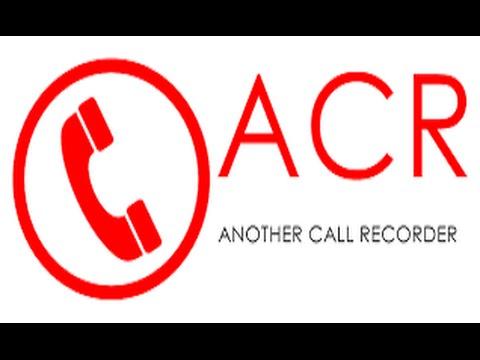 تحميل برنامج Call Recorder ACR لتسجل تلقائي للمكالمات