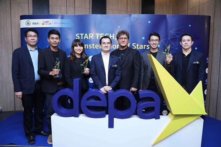 """depa honors """"The Top 3 STAR TECH"""", The Master of Thailand Digital"""