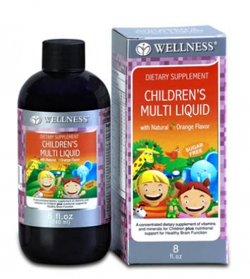 wellness Children's Multi liquid Vitamin Anak