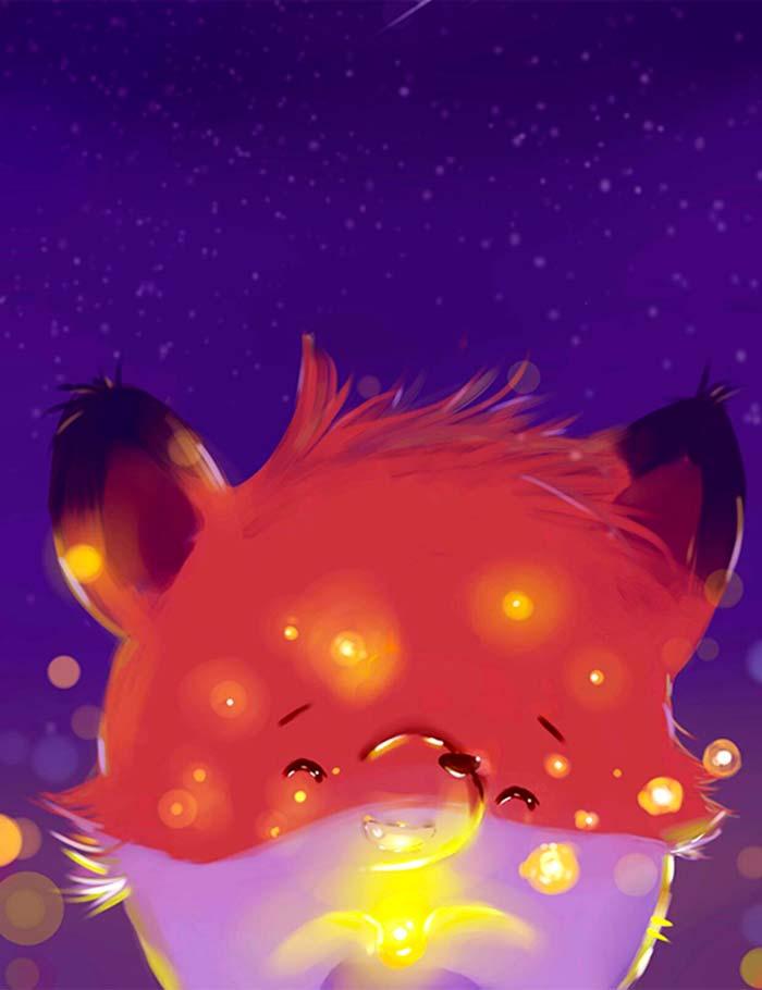 Ilustración, The foxy de Gabriel Valbuena