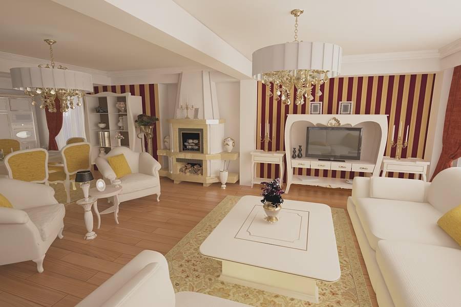 Design interior case vile stil clasic Bucuresti - Firma amenajari interioare in Bucuresti.