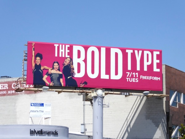 Bold Type season 1 billboard