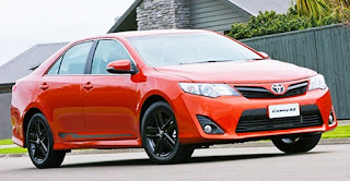 2016 Toyota Camry RZ Review Australia Specification