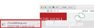 Hướng dẫn tải và cài đặt phần mềm iTunes cho máy tính