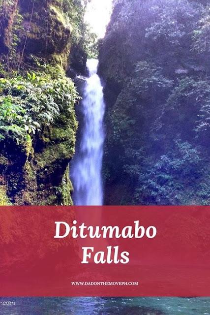Ditumabo Falls in San Luis, Aurora