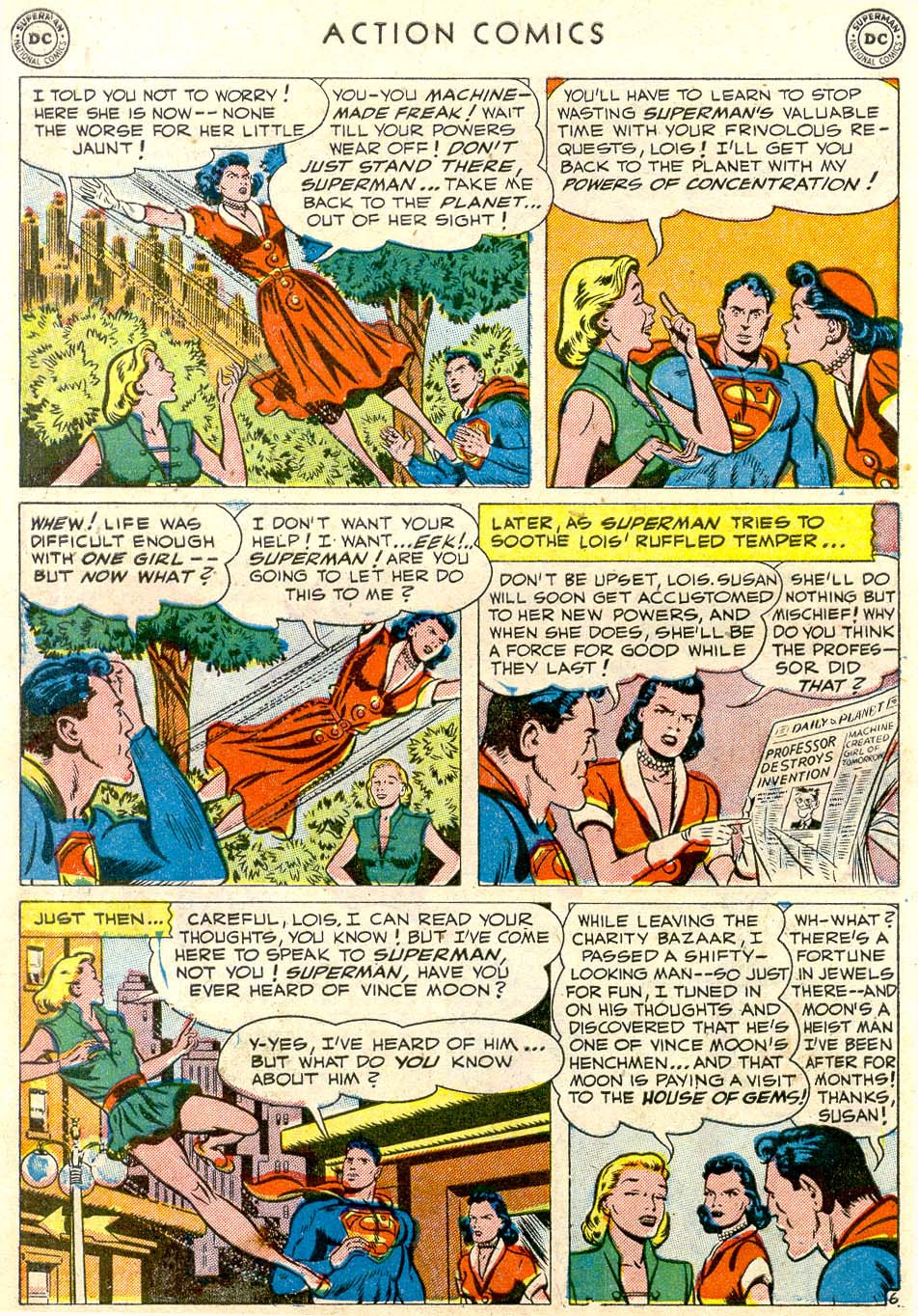 Read online Action Comics (1938) comic -  Issue #163 - 7