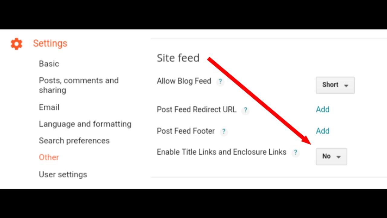 Memasang Data Post Link