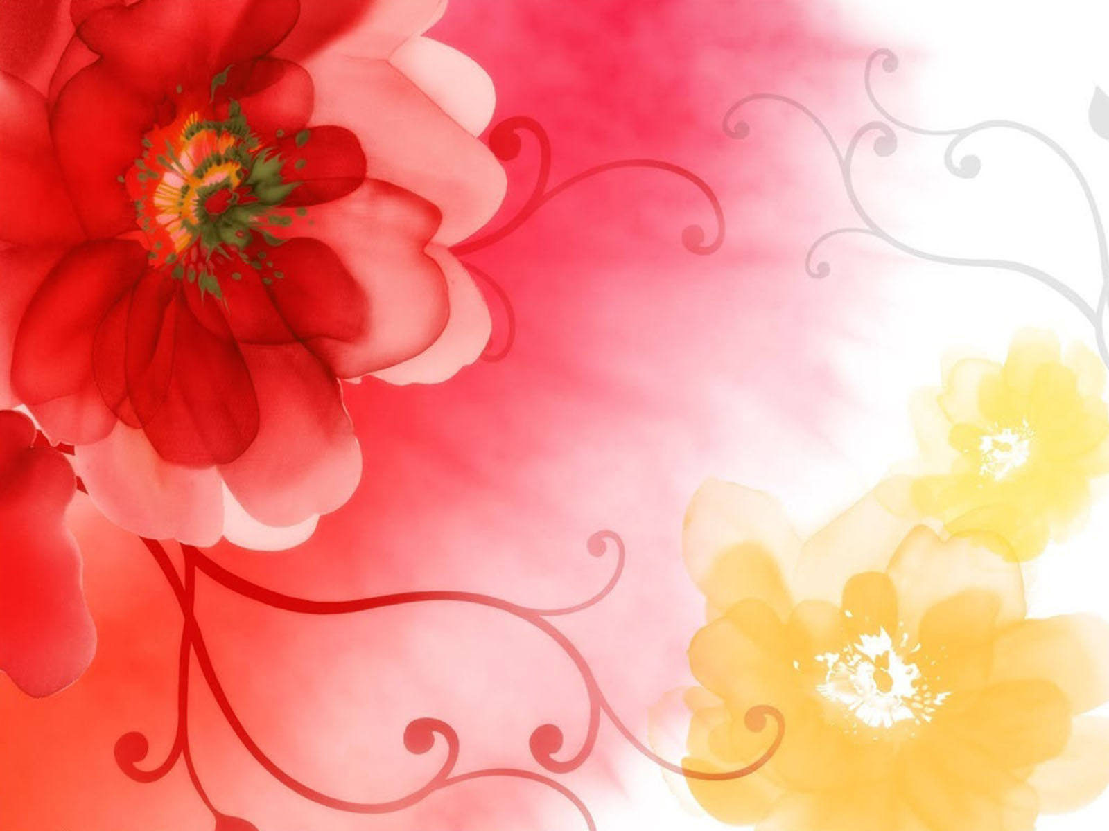 art flowers background wallpaper - photo #49