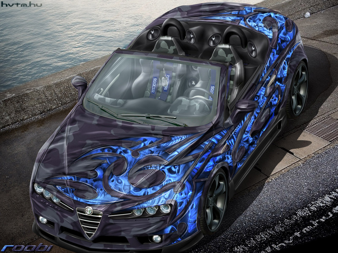 Airbrush Auto Inspired Ambitions: Airbrush Art On Cars
