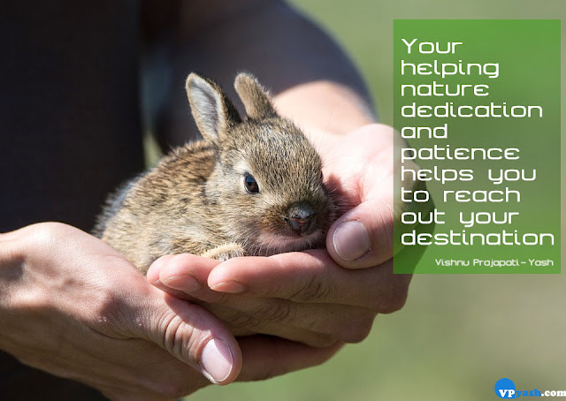 helping nature dedication and patience quotes