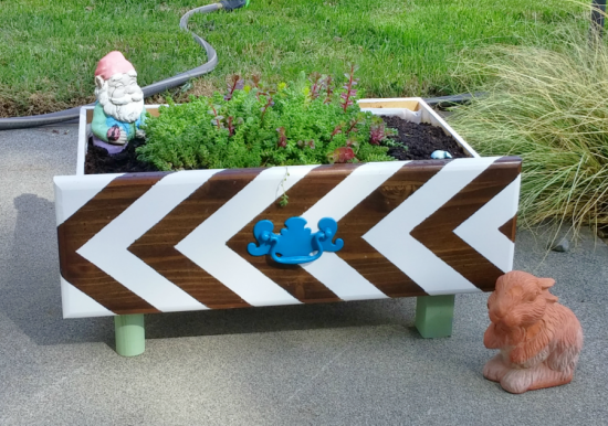 Upcycled Drawer Planter Box
