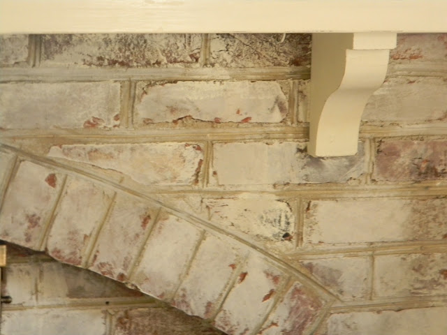 Whitewashed Brick www.thepainteddrawer.com