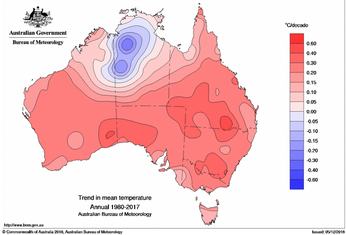 Map Of Australia And Capital Cities.Mapping The Heat Trend In Australia S Capital Cities For 2018 And