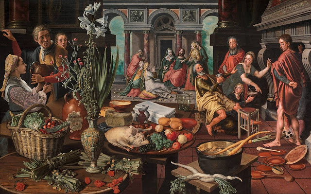 Pieter Aertsen, Christ in the House of Martha and Mary (1553)
