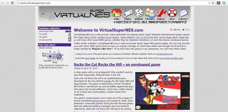 VirtualSuperNES