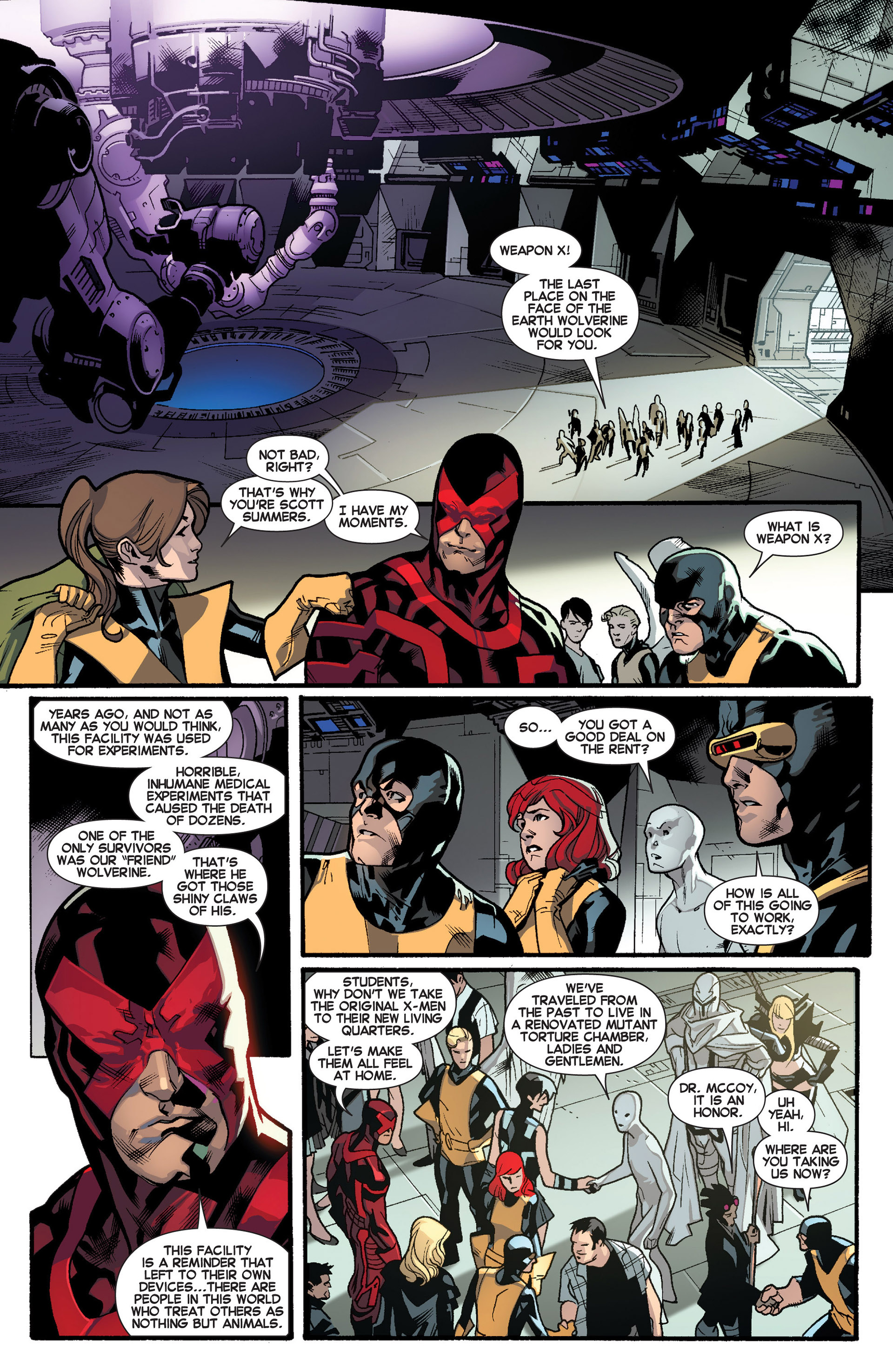 Read online All-New X-Men (2013) comic -  Issue #18 - 5