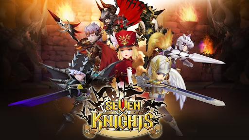 Download Seven Knights (MOD, very fast skill) free for android
