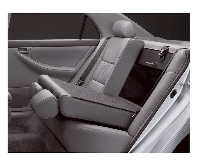 Toyota Corolla 2007 - bancos