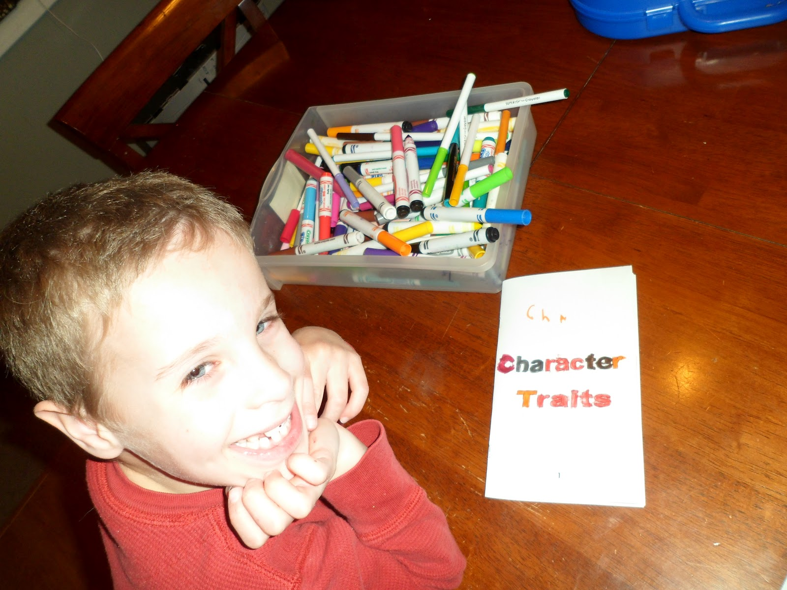Happy Homeschool Character Traits