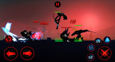 League of Stickman 2016 Mod APK Unlimited Money + Skill - Akozo.Net