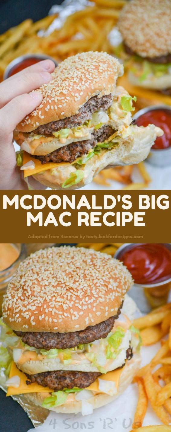 McDonald's Big Mac Recipe