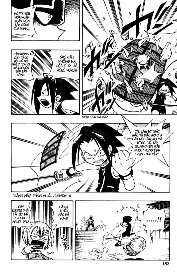 Shaman King [Vua pháp thuật] chap 35 trang 12