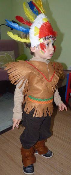disfraz casero ee indio