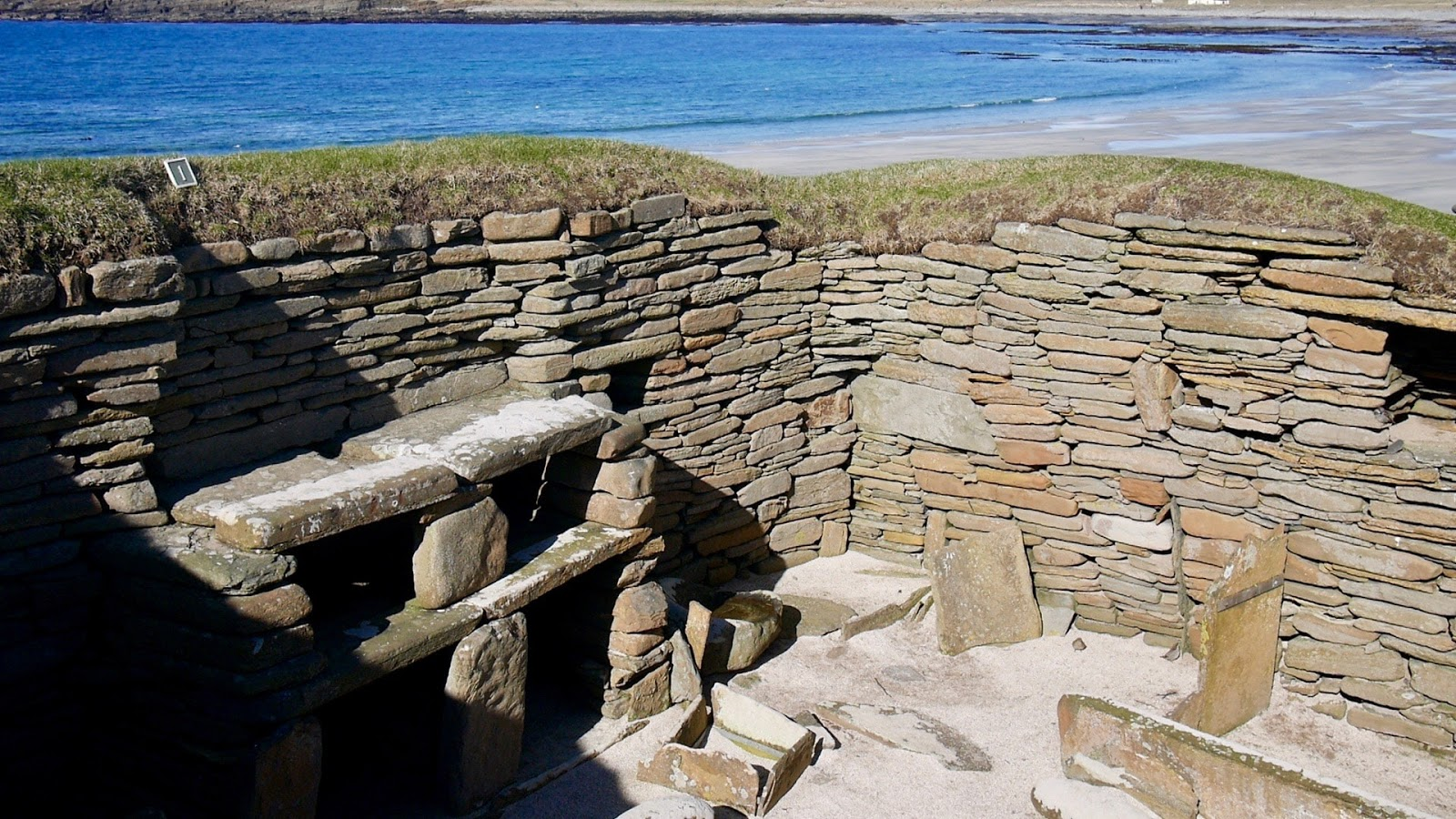 Skara Brae,  A trip to Orkney by www.CalMcTravels.com, Orkney, Whisky, Beer, Gin