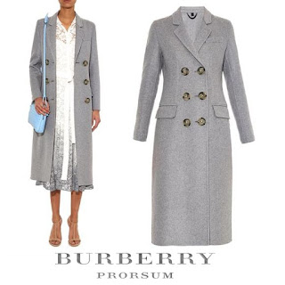 Princess Mette-Marit Style BURBERRY PRORSUM Coat