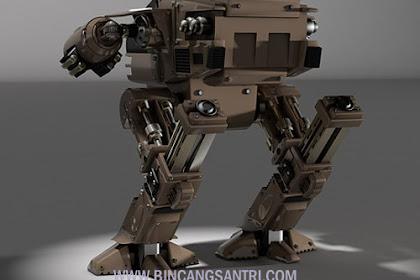 Bikin Kagum, Santri Blitar Ini Ciptakan Robot Keren