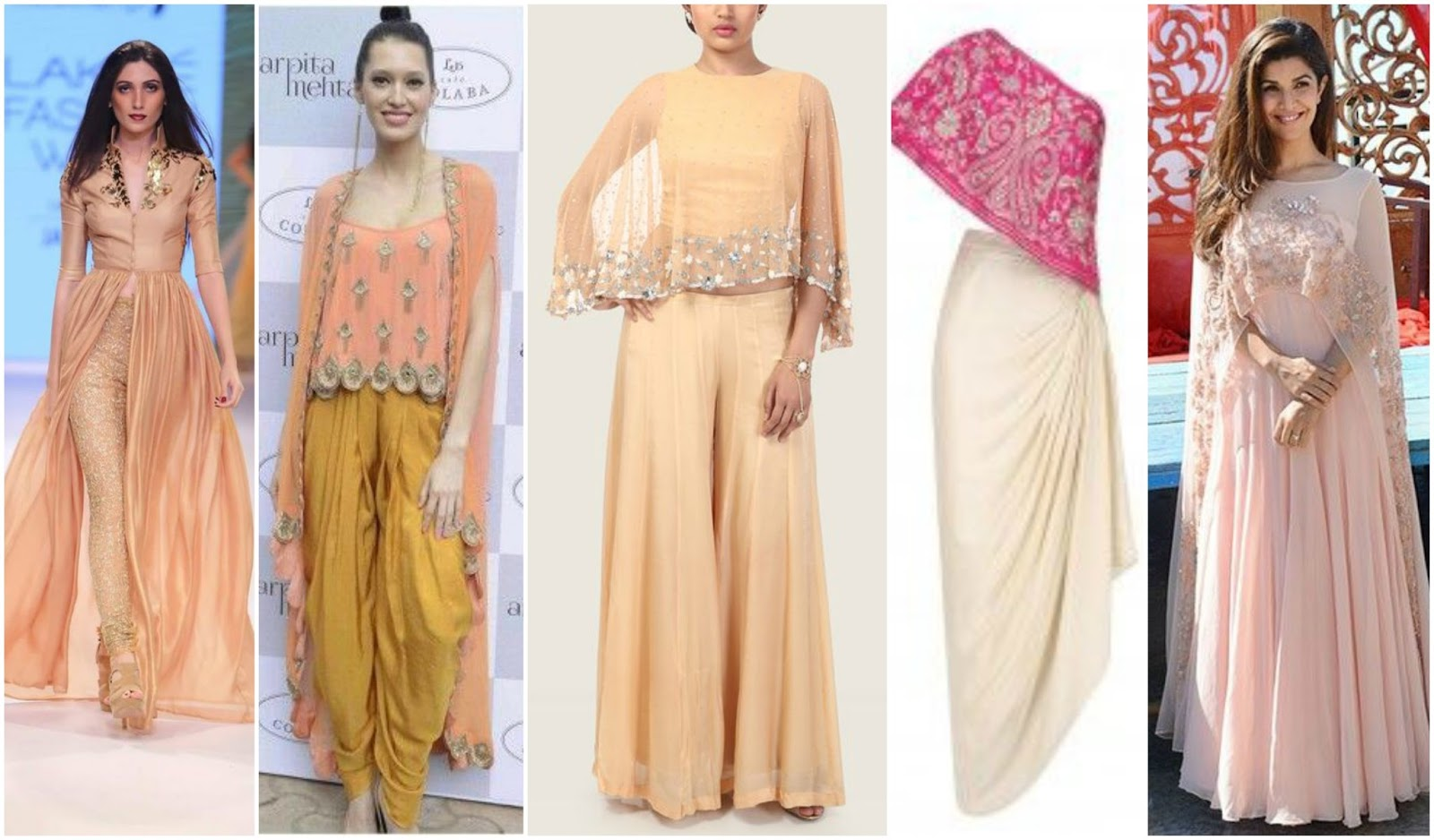 6 Ways To Reuse Your Dupatta, long sleeves cape from dupatta, make long sleeve cape from old dupatta, how to restyle dupatta for outfits