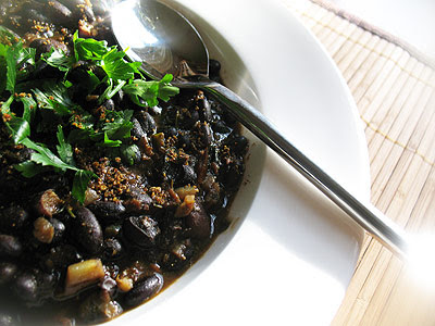 black bean curry