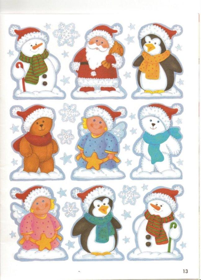 colgantes navideños