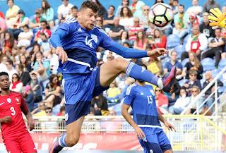 Πρώτη του Νικόλα Ιωάννου με την Εθνική Ανδρών (Πορτογαλία 4-0 ΚΥΠΡΟΣ) Φώτος