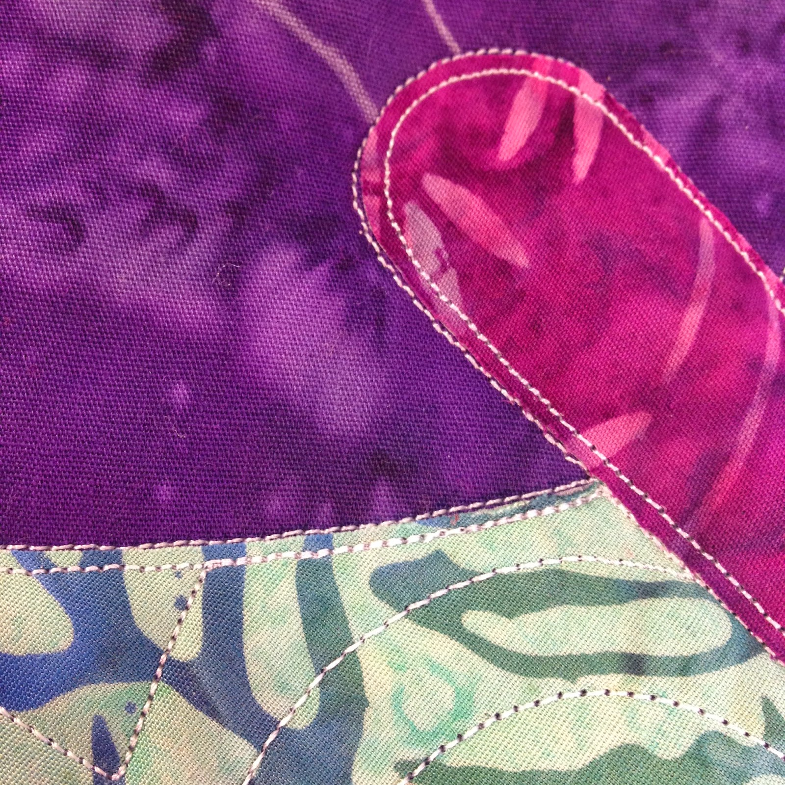 fusible applique | raw edge applique