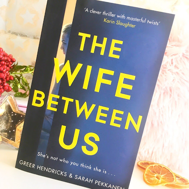 The wife between us book, christmas props