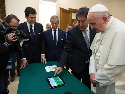 Pope and computer