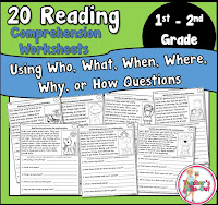 20 Comprehension Worksheets