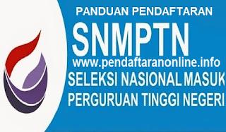 Panduan Pendaftaran Online SNMPTN 2019-2020