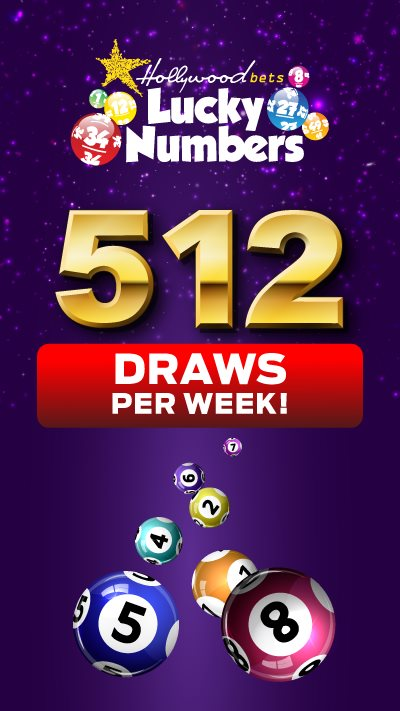 512 Lucky Numbers Draws - Hollywoodbets