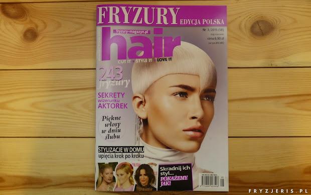 """Magazyn """"Fryzury"""" - moja propozycja wieczornej fryzury  - zdjęcie"""
